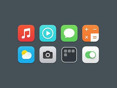 iOS7 Icons ios7 icons app apple