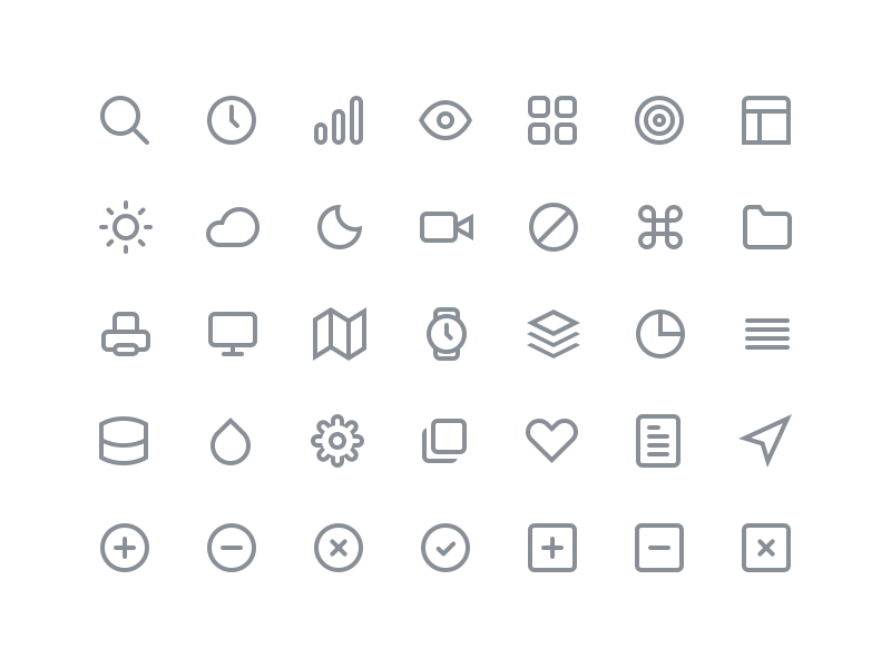 Feather Icon Set: Free Icons free icons icon set feather psd png