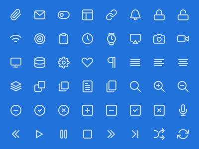 Feather 1.1 - 130 Free Icons feather icons psd csh svg webfont