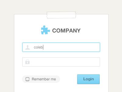 Clean Login Forms form tape login registration graphicriver envato