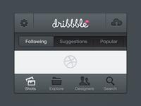 Dribbble App (v2)