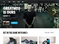Nike.com Redesign