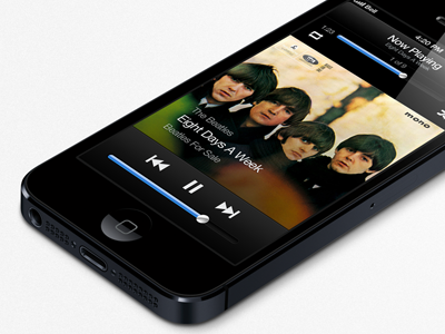 iOS Music Player rebound music ios app apple player