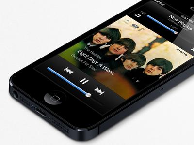 iOS Music Player rebound music ios app apple player