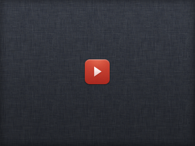 Just An Idea... (YouTube Replacement Icon) youtube ios app icon play photoshop psd