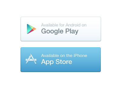App Store Buttons app store button buttons iphone android