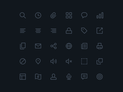 Icons Preview (@2x) icons free freebie preview psd