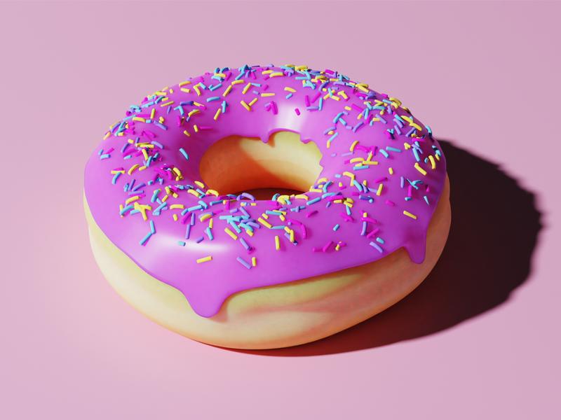 🍩 Donut 3d 🍩