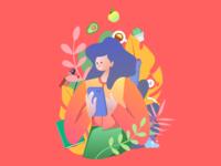 Habit illustration ✏️