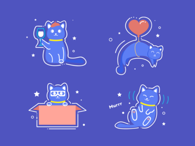 Cat illustrations 🐱
