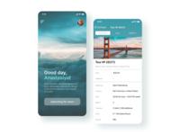 Travel app mobile  🧳