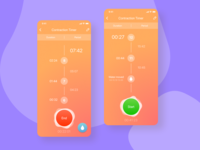 Contraction Timer Mobile App