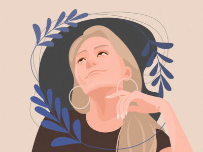 ✍ K vector art illustration artwork