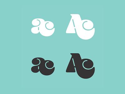 Monogram Logo Exercise monogram illustrator logotype branding typogaphy logo