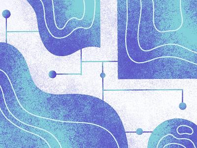 Data Analytics Illustration analytics data ecommerce textures blog shogun branding procreate illustration