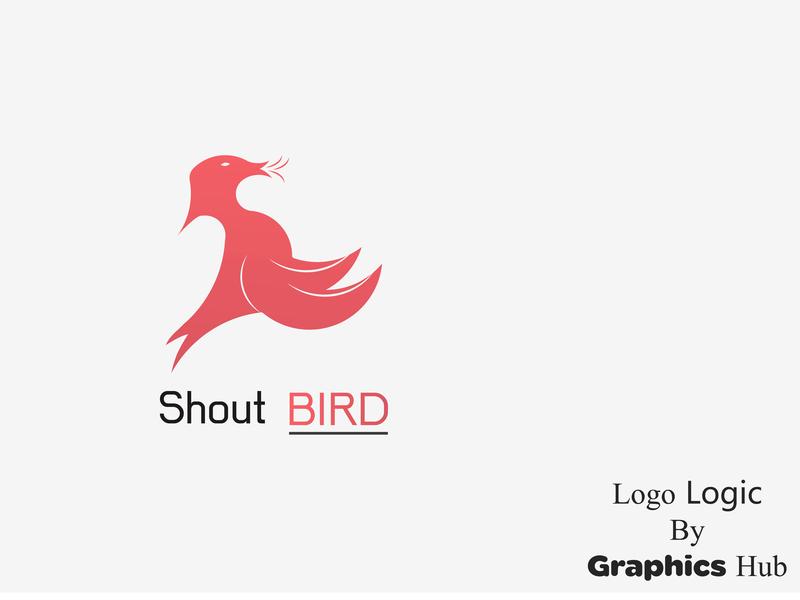 Shout Bird Logo Design by Logo Logic on Dribbble