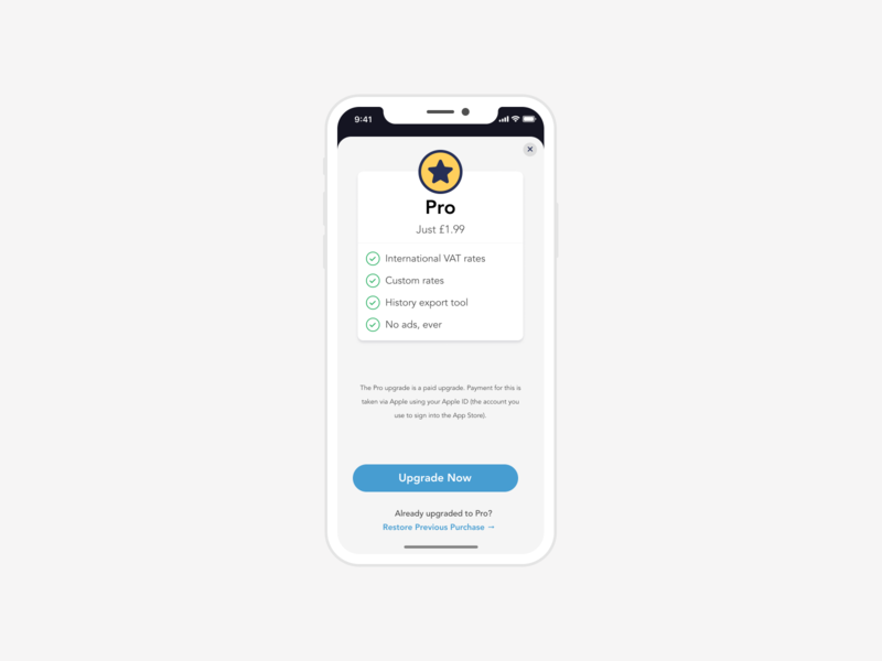 In-App-Purchase, Upgrade View ios development checkout iap in app purchase ios design ios ios app design appdesign ui mobile app development figma app design ui design mobile ui mobile app design mobile app mobile