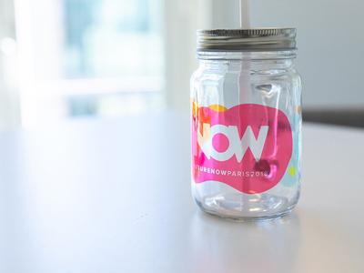 FutureNow goodies print identity jar mug goodies conference event