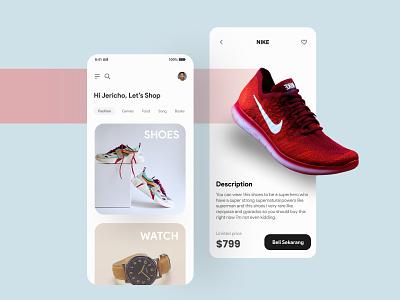 E-Commerce Application Concept minimalism whitespace clean ui mobile design marketplace e commerce e-commerce user interface design dailyui design graphic design ui