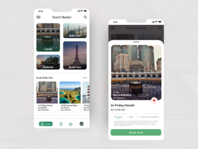 Travel Market App Exploration