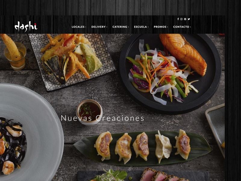 Dashi webdesign