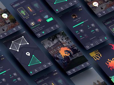 Tinyverse UI Concept concept mobile app design game design ux design ui deisgn