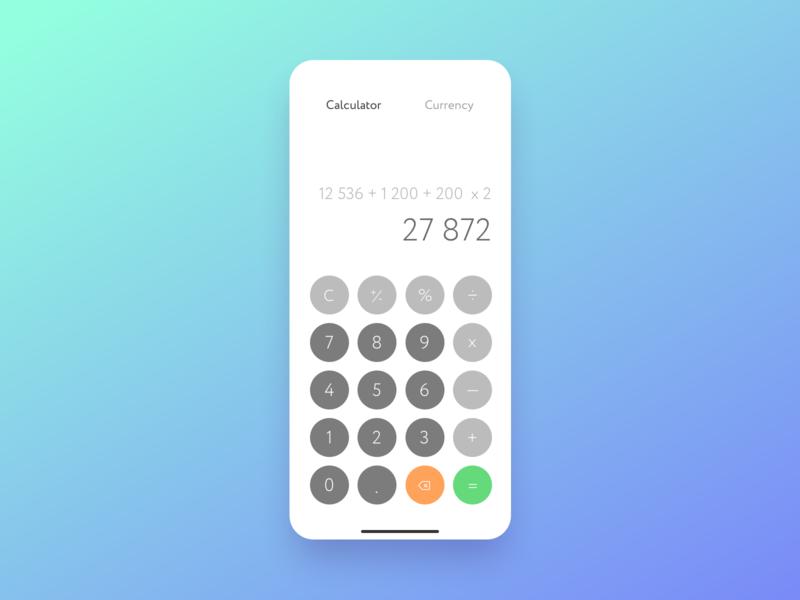Calculator — Daily UI 4