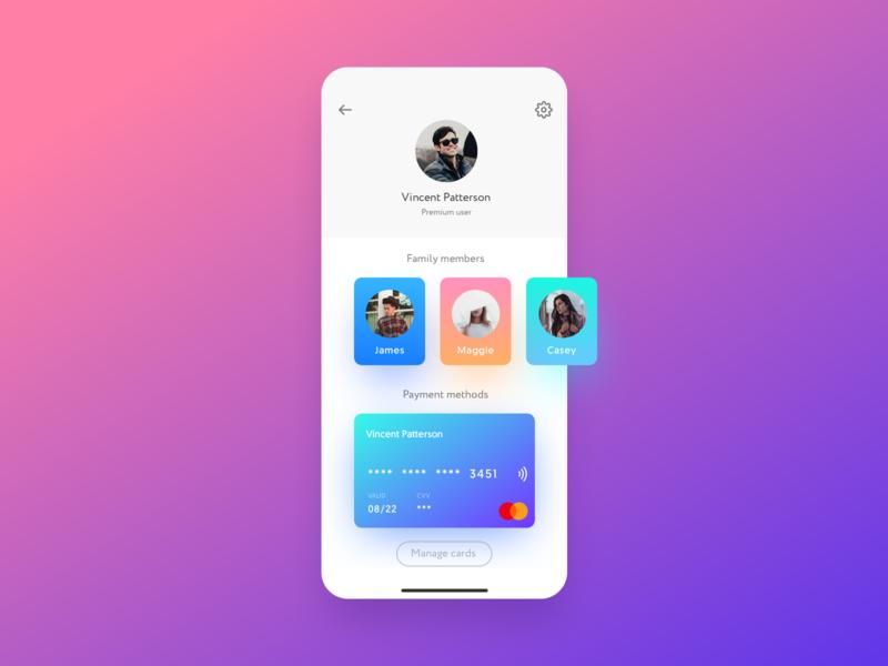 User Profile — Daily UI 6