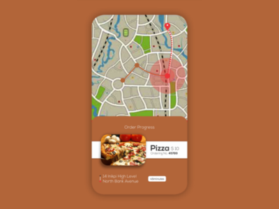 DailyUI #020 Location Tracker