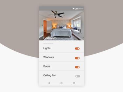 DailyUI #021 Home Monitoring Dashboard
