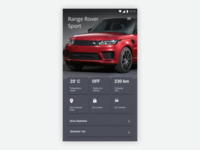 DailyUI #034 #Car Interface
