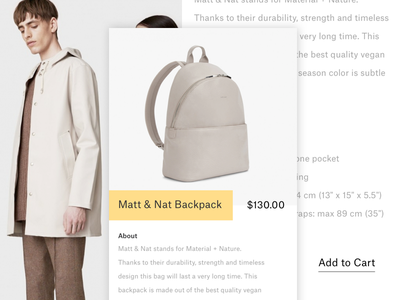 Fntn: Mobile Shopping product ux ui page feature app shopping mobile