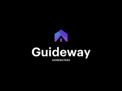 Homebuyers Logo house way guide buyer home estate real logo