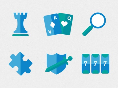 Game Genre Icons