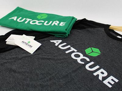 Auto Cure new brand identity merch design merchandise shirt logo design brand identity brand logo