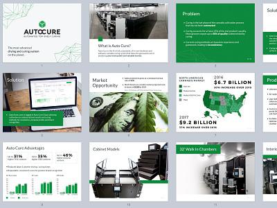 Auto Cure pitch deck presentation graphic design pitch deck keynote powerpoint slide show slide deck