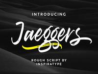 Jaeggers - Free Natural Calligraphy Font