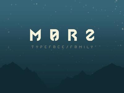 Marz - Free Geometric Sans Serif Font