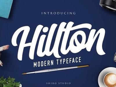 Hilton Free Script Font