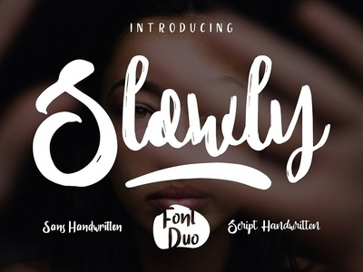 Slowly Duo - Free Script Font