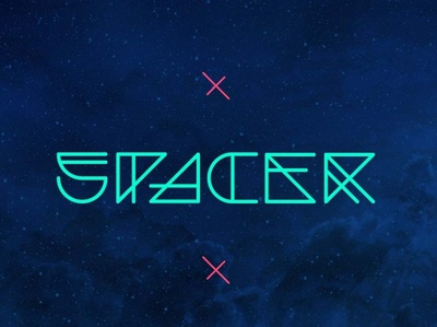 Spacer Free Space Feel Font