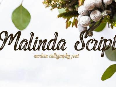 Malinda Script front