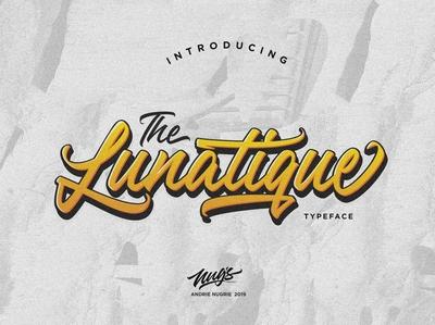 The Lunatique Free Script Font