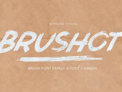 Brushot Brush Free Font