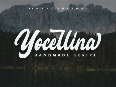 Yocellina Free Handmade Font