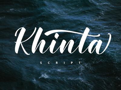Khinta Free Script Font