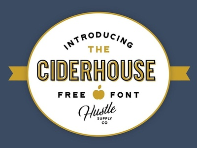 Ciderhouse - free nice font