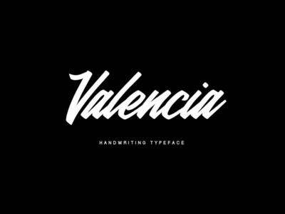 Valencia - free calligraphic font