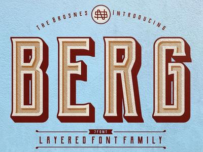 Berg Free Typeface