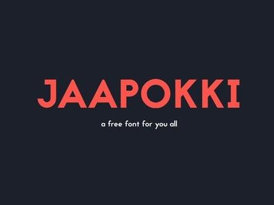 Jaapokki Free Font